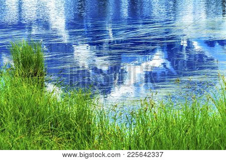 Picture Lake Mount Shuksan Reflection Abstract Mount Baker Highway Washington Pacific Northwest Usa