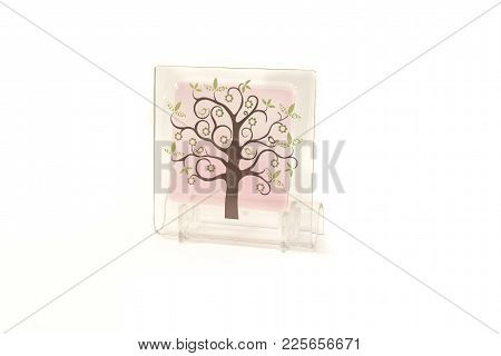 Aromatic Crystal Air Freshener Isolated On White Background  For Any Purpose