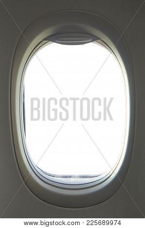 Empty Aircraft's Porthole