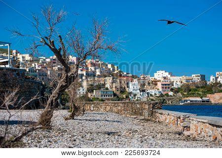 Syros Island, Capital Of Cyclades, Aegean Sea, Greece