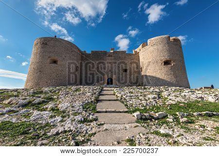 Facial Pic Of If Castle - Chateau D'if Near Marseille, France