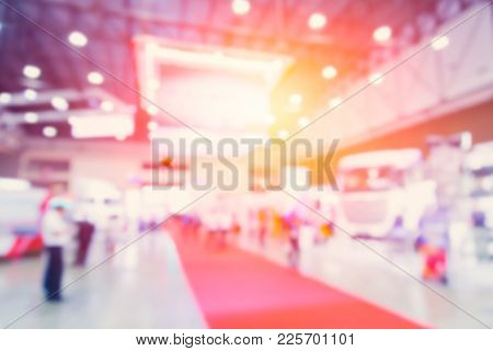 Blur Business Import Export Exhibition Expo Sale Event For Background