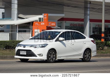Private Sedan Car Toyota Vios.