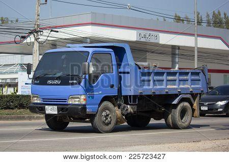 Private Isuzu Dump Truck.