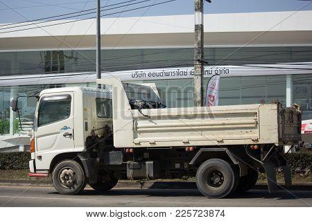 Private Hino Dump Truck.