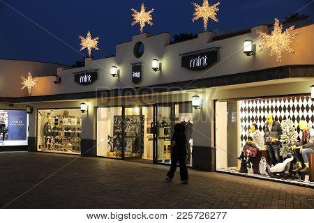 Gran Canaria, Spain - December 4, 2015: Mint Fashion Store In Gran Canaria, Spain. Canary Islands Ar