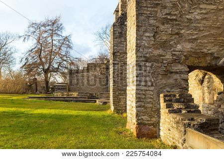 Ruins Of The Medieval Monastery Of The Holy Brigid, Pirita In Tallinn.