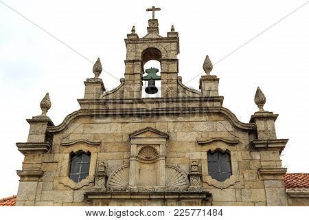 The Church Of Mercy, Is A Single Nave Mannerist Church With Gable, Bell Tower, Round Arch Portal, Tu