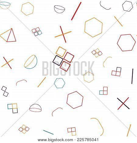 Geometric Memphis Pattern, Geometric Pattern, Shapes, Art, Geometric Background, Mosaic Pattern, Geo