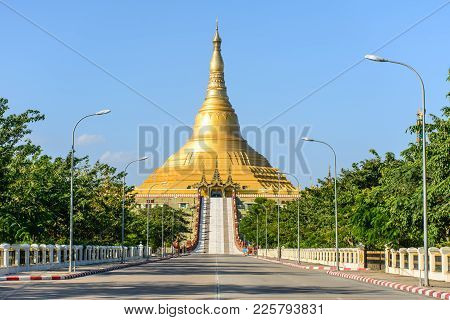 Uppatasanti Pagoda, Nay Pyi Taw, Myanmar, Feb-2018