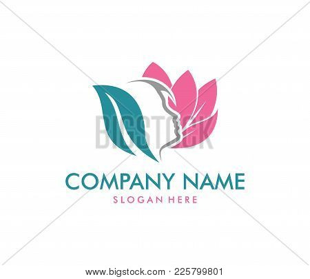 Vector Logo Design For Beauty Salon, Dermatology Center, Wellness House, Skincare, Cosmetic, Natural