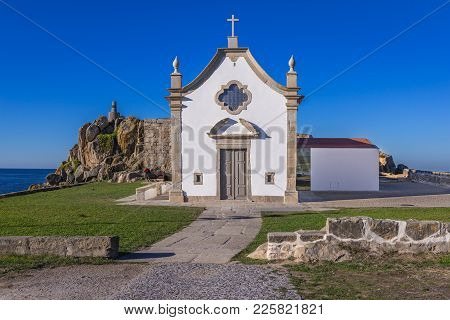 Boa Nova Small Chapel In Matosinhos City, Portugal