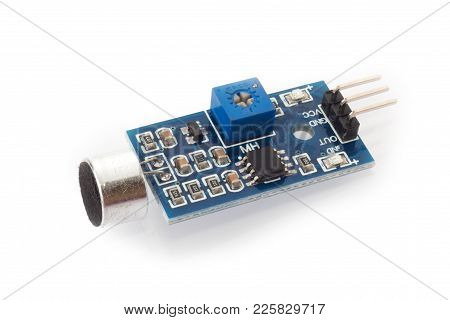 Sound Sensor Module For Diy Projects Electronic Equipment