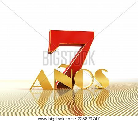 Golden Number Seven (number 7) And The Word