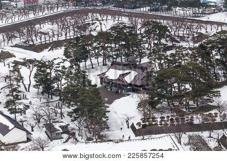 Tourism Attraction Former Magistate Office Of Hakodate Japan Fort Goryokaku .