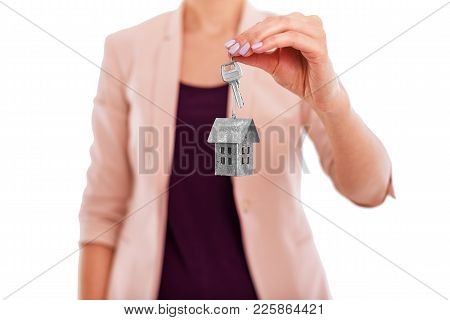 Keys To The House Are In The Hands Of A Realtor. Advantageous Offer.