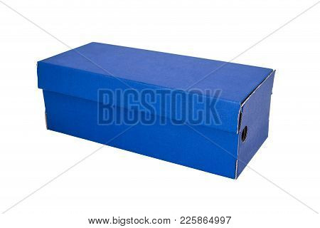 Blue Shoe Box