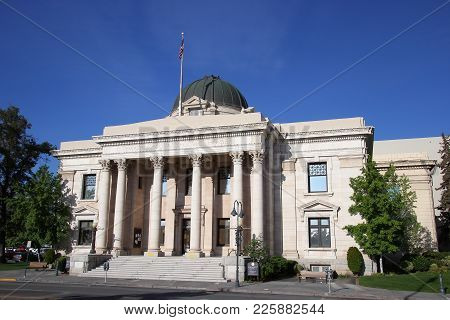 Washoe County Courthouse In Reno, Nevada, Usa