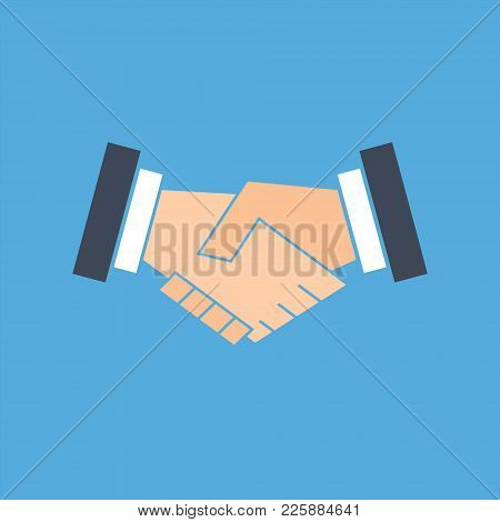 Handshake Icon Vector Illustration