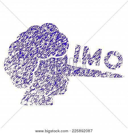 Grunge Imo Lier Rubber Seal Stamp Watermark. Icon Symbol With Grunge Design And Dirty Texture. Uncle