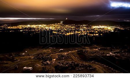 Night View On The City