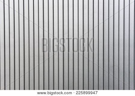 Gray Background In Striped. The Strips Are Decomposed Vertically.