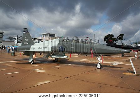 Us Air Force Northrop T-38A Talon Trainer Jet Plane