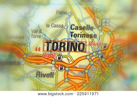 Torino,the Capital City Of The Metropolitan City Of Turin, Italy (europe).
