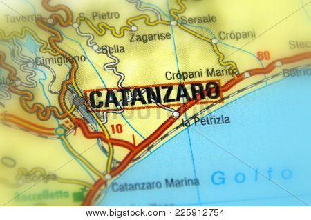 Catanzaro, The Capital Of The Calabria Region And Of Its Province (italy).