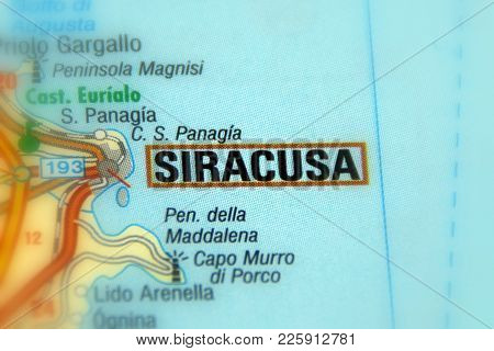 Siracusa, The Capital Of The Province Of Syracuse, Sicily, Italy (europe).