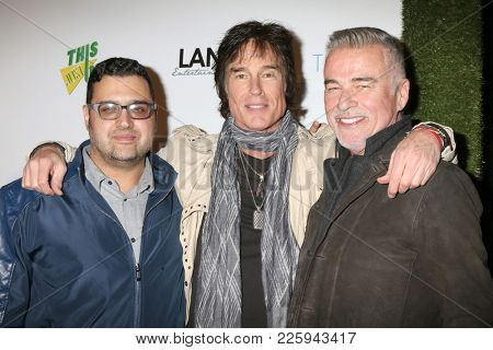 LOS ANGELES - FEB 6:  Gregori J Martin, Ronn Moss, Ian Buchanan at the 7th Annual  LANY Entertainment Mixer at 33 Taps Hollywood  on February 6, 2018 in Los Angeles, CA