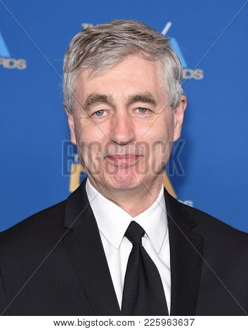 LOS ANGELES - FEB 03:  Steve James arrives for the 2018 Director Guild Awards on February 3, 2018 in Beverly Hills, CA