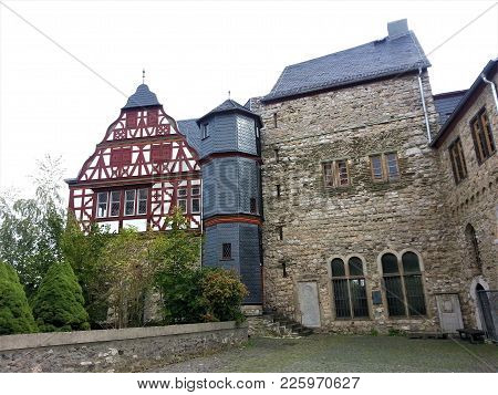 Beautiful Half Timbered House In Limburg, Germay