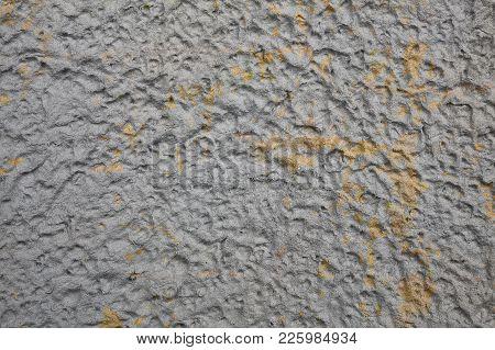 Grey Papie Mache Texture Blank Paper Background
