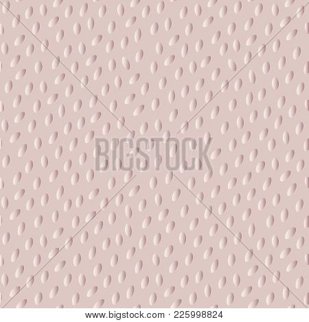 Abstract Spotted Seamless Pattern. Simple Textured Vector Background With Convex Speckles.