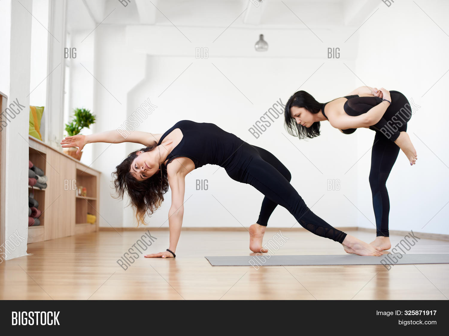 Two Young Women Image Photo Free Trial Bigstock
