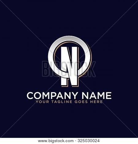 O N Initial Logo Vector, O Letter Logo Inspirations, Sport, Finance, Action Logo Idea