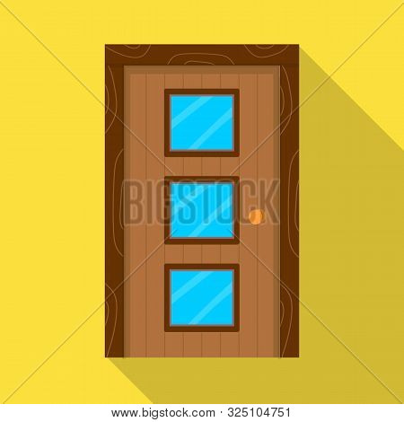 Isolated Object Of Door And Doorway Icon. Collection Of Door And Entrance Stock Symbol For Web.