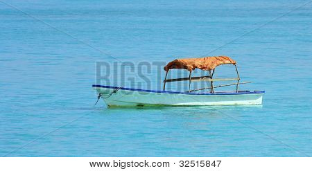 Boat In Zanzibar