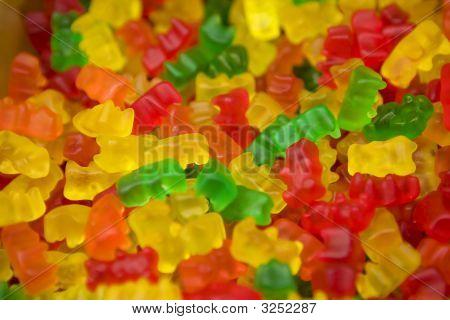 Multi-Colored Chewing Marmalade
