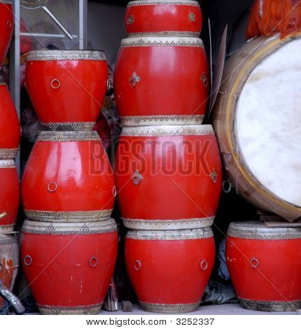 Drums Of China
