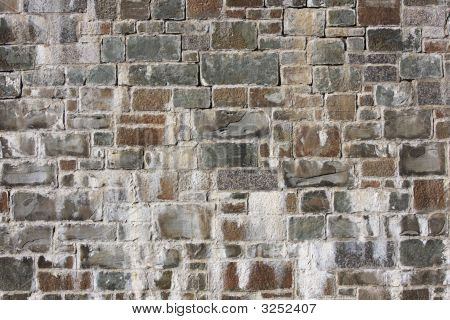 Old Antique Stone Wall