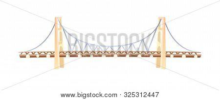 Famous Landmark The Bosphorus Bridge In Istanbul.