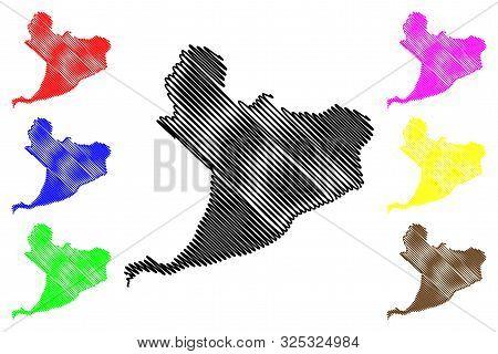Distrito Nacional Province (dominican Republic, Hispaniola, Provinces Of The Dominican Republic) Map