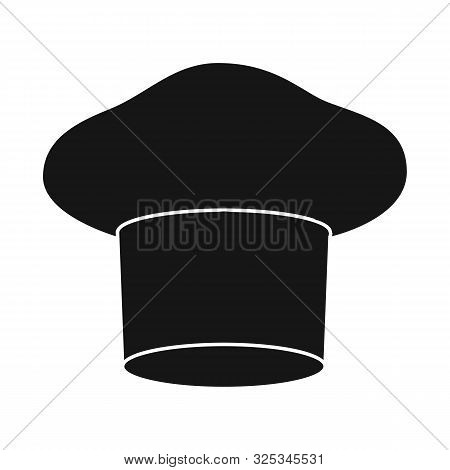 Vector Illustration Of Confectioner And Hat Icon. Set Of Confectioner And Chef Vector Icon For Stock