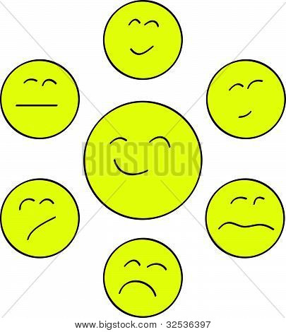 Yellow chat smiles