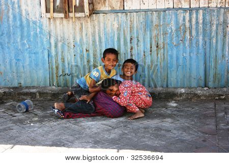 smiles of children suburb