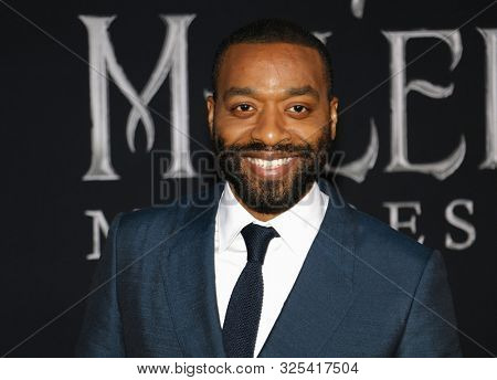 Chiwetel Ejiofor at the World premiere of Disney's 'Maleficent: Mistress Of Evil' held at the El Capitan Theatre in Hollywood, USA on September 30, 2019.