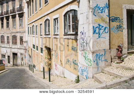 Lisbon Graffiti Art