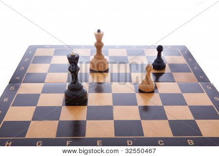 chess, chess board. game